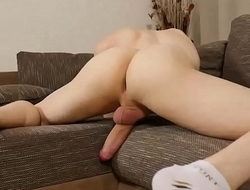 Horny Gay Play With His Ass