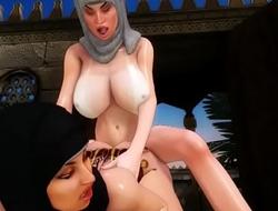 arab big tits slave escape