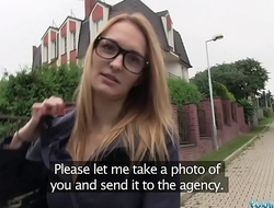 Public Agent Belle Claire has the best tits I'_ve ever paid for