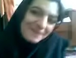 Arab girl stripping naked