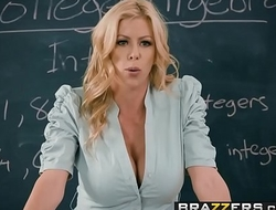 Brazzers - Big Tits at School - College Dreams scene starring Alexis Fawx Bailey Brooke &amp_ Danny