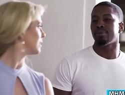 Black Isiah fucks stepmom Cherie Deville