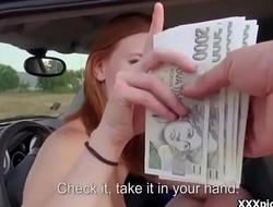Public Blowjob For Cash With Sexy Amateur European Slut 23