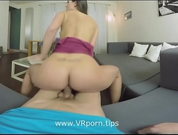 Your horny step sister Kristy Black will teach you something www.VRporn.tips