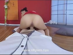 Geisha Pussy Kat Go hard Anal sex www.VRporn.tips