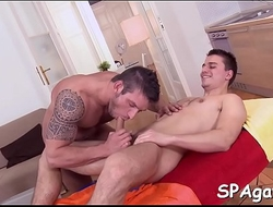 Sexy oral-sex for sexy gay
