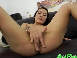 Amateur babe anally fucked by her bf