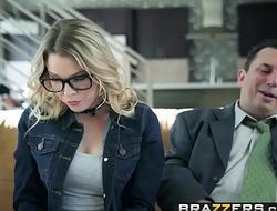 Brazzers - Teens Like It Big - Show My Dad Whos Boss scene starring Aubrey Sinclair and Sean Lawless