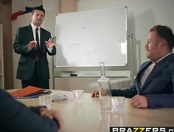 Brazzers - Big Tits at Work - Under The Table Deal scene starring Mea Melone and Freddy Flavas