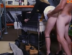 Hot milf sells her stuffs and screwed