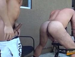 Gay bear gets ass fucked