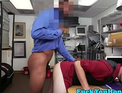 Casting straighty interracially plowed on cam
