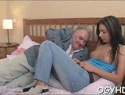 Crazy old dude bonks juvenile girl